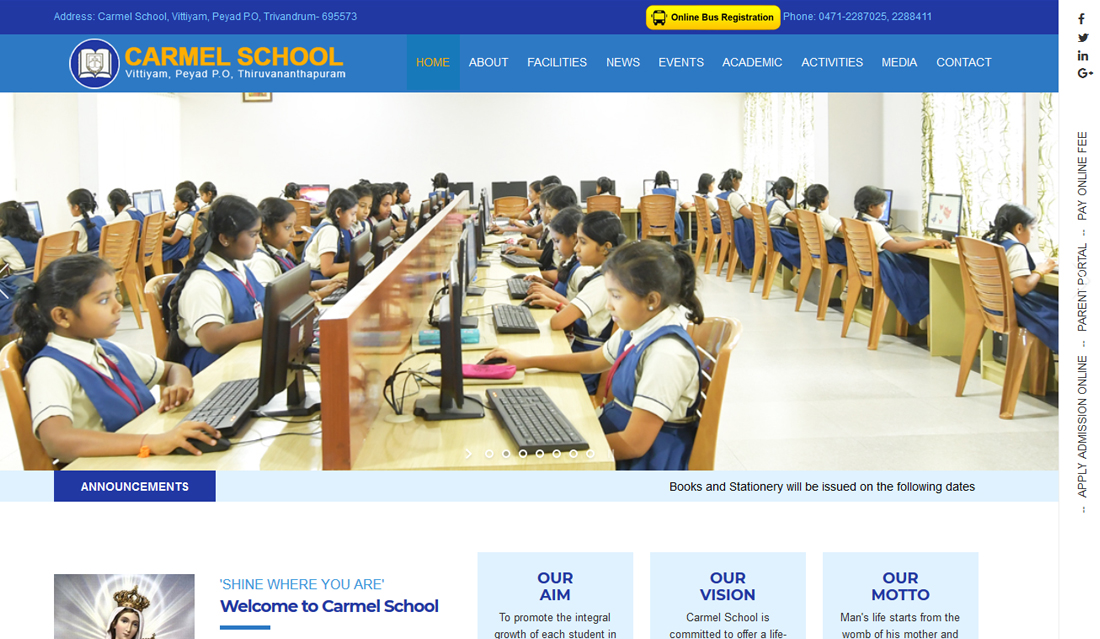 Carmel School CBSE